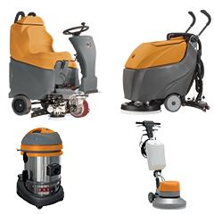 Sử dụng máy chà sàn hay sử dụng nhân công lau sàn nhà xưởng?