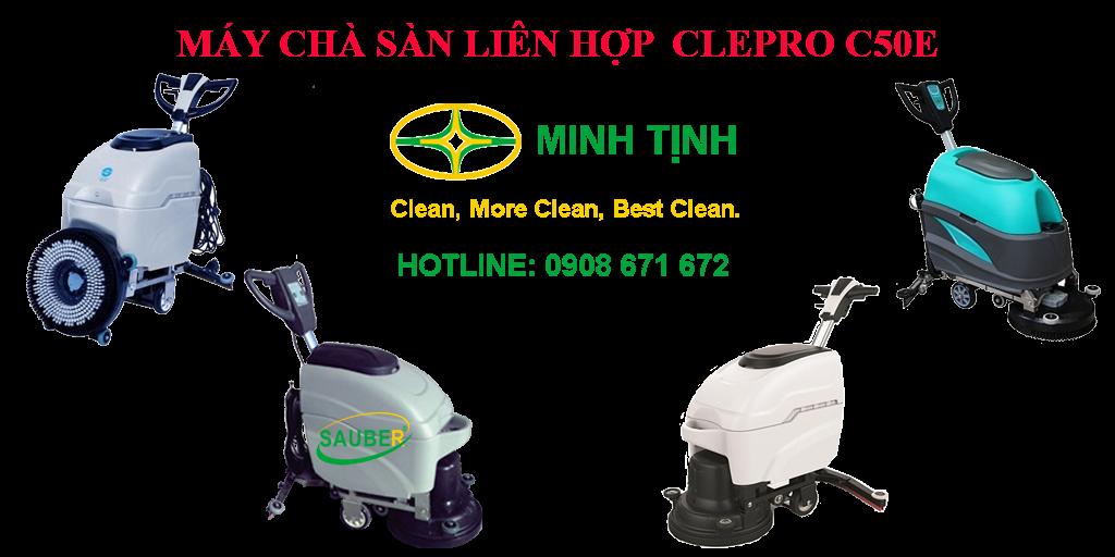 MÁY CHÀ SÀN LIÊN HỢP CLEPRO C50E | MINH TỊNH