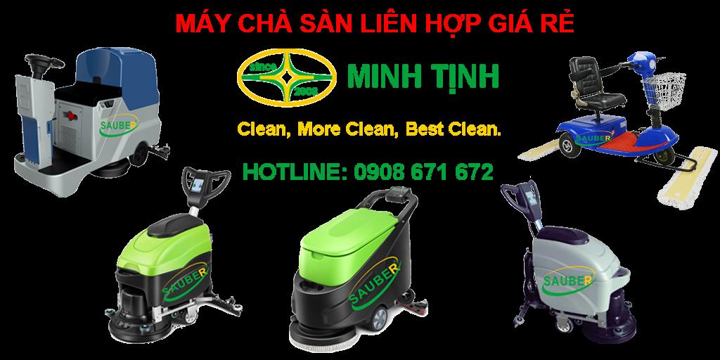 Máy chà sàn liên hợp giá rẻ là một trong những thiết bị vệ sinh làm sạch